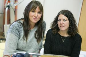Kristina Karlsson och Eva Westermark är lärare på vård- och omsorgsprogrammet.