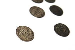 Silvermyntet ingår i en större skatt, Vikenskatten.