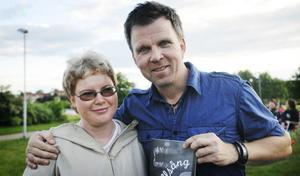 Birgitta Sköldebrand från Edsbyn hade åkt till Bollnäs för att höra Richard Herrey sjunga.