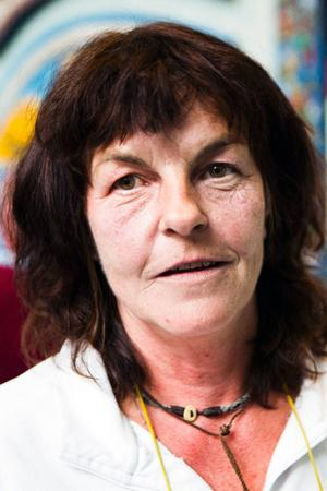 Svampkonsulent Britt-Marie Häggblom