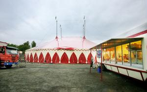 Cirkus Brazil Jack i Söderhamn.