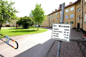 Säljer. Kvarteret Muraren hör till de fastigheter som Hedemora bostäder vill sälja.