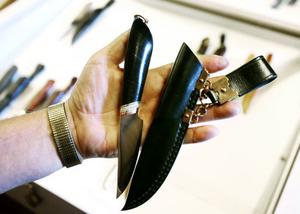 Så här ser årets vinnarkniv ut, tillverkad av Laszlo Balatoni från Uppsala.