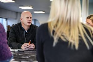 Martin Sahlberg, vd OSD och Storsjöteatern, deltog i arbetet. Han lyfte fram vikten av samarbete mellan aktörerna runt Stortorget.