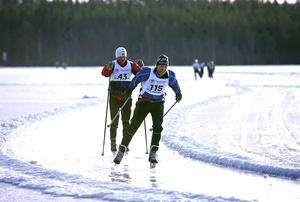 Bergviken, som ligger både i Söderhamns kommun och Bollnäs kommun, är en av många fina skridskosjöar i Hälsingland.
