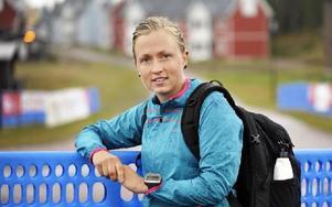 Sara Aronsson från Värmland var imponerad av de fina banorna, hon slutade fyra. Foto: Berit Djuse