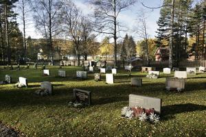 Om allt går som tänkt, ska kyrkogården i Nianfors få en minneslund redan i vår.