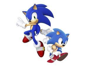 I nya Sonic generations kan man spela både som nya, mörkblå Sonic på 3D-banor och gamla, ljusblå Sonic på 2D-banor som på 1990-talet.