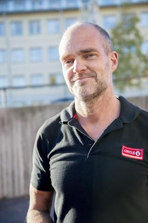Jonas Ericsson bensinstationsägare i Sundsvall.
