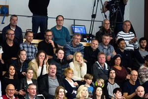 Jonte Karlsson var på plats i Karlbergshallen när Köping mötte Wetterbygden.