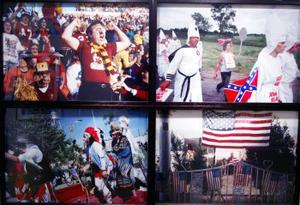 Hasse Persson har fångat några av de tillfällen då amerikaner - eller i alla fall vissa av dem - går ut och firar.