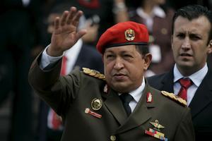 Dags att ta farväl? Venezuelas president Hugo Chávez är inte lika populär längre.foto: scanpix