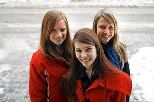 Emma Eriksson, Emilia Frankenberg och Louise Brantsberg har startat eget företag.