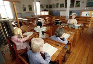 Installationen finns i en del av missionshuset.