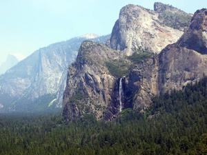EN UPPLEVELSE. Så här vacker var naturen i Yosemiteparken.