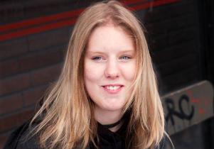 Sara Eriksson, 18 år, Strömsund– Nej men om jag loggar in fyra gånger per dag så uppdaterar jag säkert dubbelt så många gånger.