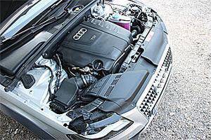 Dieselmotorn är på två liter och 170 hästkrafter, en kraftkälla som passar utmärkt i A4 Allroad.