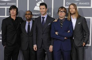 Maroon 5.   Foto: Chris Pizzello/AP/TT