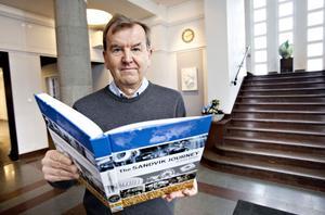 Ronald Fagerfjäll är något av expert på Sandvik och har skrivit boken The Sandvik Journey som gavs ut i samband med företagets 150-årsjubileum. Han har själv träffat Carl-Eric Björkgren vid flera tillfällen. Bild: Arkiv.