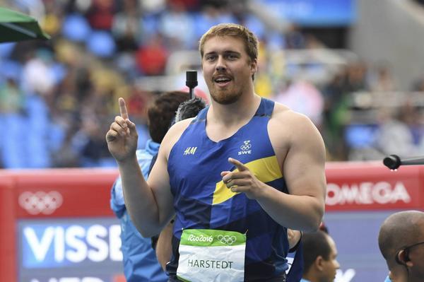 Axel Härstedt är klar för OS-final i diskus.