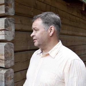 Johan Öholm, fritidschef, är sugen på jobbet som Kultur- och fritidschef.