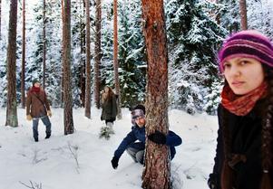Leonarda Arcidiacono, Daniel Ängmo, Sigrid Hebor och Thomas Ericsson är några av initiativtagarna som vill bevara Järnaskogen.