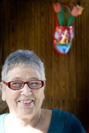 KÄMPAR PÅ. Jopie Dronkers, kändis i Sandviken för sitt envisa engagemang i sjukvården. Hon vill vara en röst för de äldre som inte själva orkar slåss för sin sjukvård.