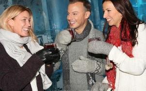 Jessica Andersson, Magnus Carlsson och Sonja Aldén ska sprida julstämning i Falun med