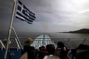 Båtluffning i den grekiska skärgården är ett naturligt val för många semestrande svenskar.   Foto: Dimitri Messinis/AP/TT