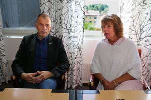 Håkan Söderman och Maria Bäcklin berättar om vad mötet mellan kommunen och Länstrafiken gav.