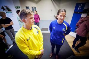 Ledarna Johannes Patz och Anna Gustafsson har nyckelroller i den nya satsningen. Patz har bland annat JSM-guld på meritlistan, Gustafsson ska i höst representera Sverige i mixed-EM.