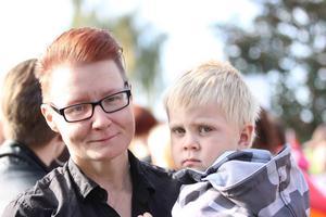 Anna Österberg tyckte att Prideparaden var underbar.