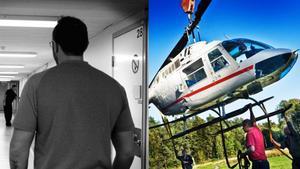 Alexander Eriksson, dömd för att ha kört helikoptern i värderånet i Västberga 2009, lämnar in en resningsansökan till Högsta domstolen.