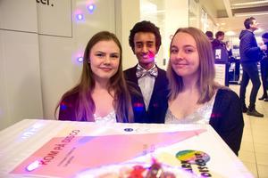 Disco, disco. Elvira Johansson, Sabir Osman och Sara Eskelinen satsar på disco för barn.