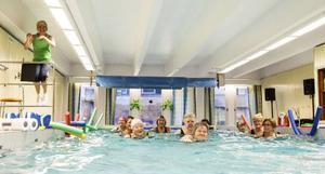 Aqua-passen, eller vattenträningen, är den mest populära verksamheten hos Korpen Storsjön.– Vi växer och blir större och större. Nu har vi totalt 2 000–2 500 medlemmar, säger Lena Hagström, ordförande i Korpen Storsjön.