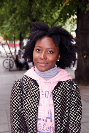 Christine Andersson, 20 år, student, Gävle:   – Jag brukar lyssna på musik och prata med vänner.
