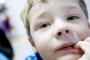"""GPS. Mikael Ryner, fyra år, vet hur tomten kan hitta hem till alla barn. """"Han har GPS."""""""