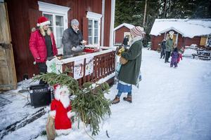 Julmarknad på Musolles museum i Ytterån.