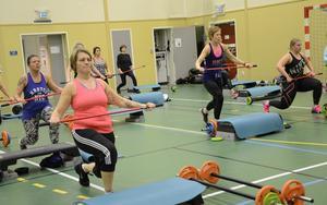 Just nu pågår prova-på-vecka i Hälsans hus där det är möjligt att testa de olika passen men även prova hur det är att träna i gymmet.