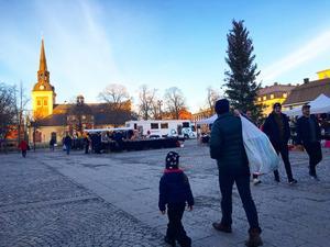 Stora torget, en plats som Södertäljeborna tycker ska vara en mötesplats med ett brett utbud.