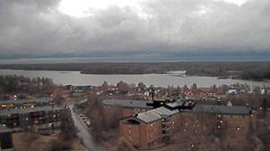 Bild från kameran på vattentornet kl. 07:46.