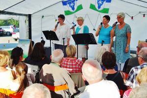 Sånggruppen Malvan uppträdde på Sommarmusik i Frostviken i fjol.