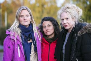 Bettina Bergknecht, Carla Dahlberg och Catharina Enhörning vill rikta ett stort tack till dalfolket för deras givmildhet.