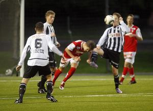 Strand kämpade hårt och visade upp en förstklassig juniorfotboll i matchen mot Sandviken som slutade 0–0.