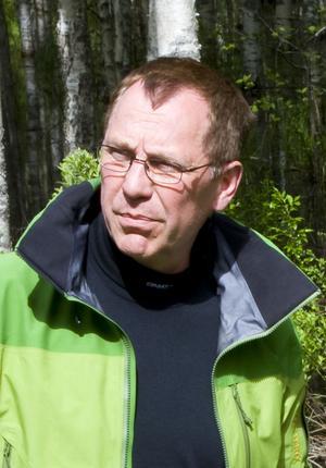 Jan Lundström, leder myggbekämpningen i Nedre Dalälven.