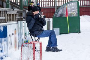 Hans Ivarsson är glad över att få flytta in sin pall inomhus till nästa säsong.