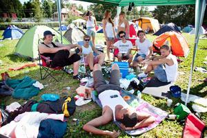 Yran campingen, 2011.
