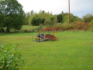 Förödelse efter den naturkraft tromben visade i Färnäs.