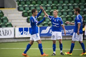 Shpetim Hasani gjorde det slutliga 4–2-målet.