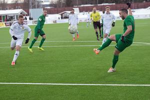Ricky Yarsuvat var inblandad i Dalkurds båda mål mot GAIS.